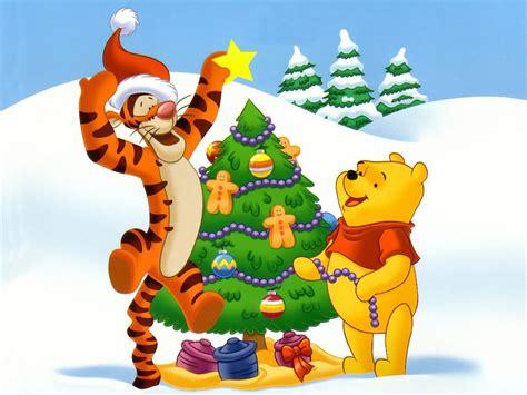 imagenes animadas de navidad de winnie pooh ba 218 l de navidad winnie the pooh y sus amigos preparan la