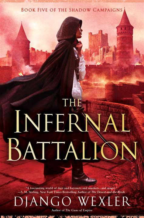 cover reveal the infernal battalion django wexler