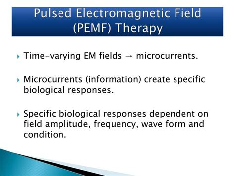 power tools for health how pulsed magnetic fields pemfs help you books ppt biological effects of pulsed electromagnetic field