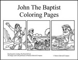 the baptist coloring page the 65 best images about sonspark labs crafts 2015 on