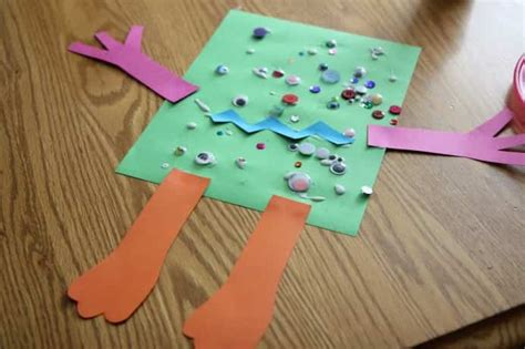 Things To Make With Paper And Glue - top 10 crafts for toddlers actually worth doing