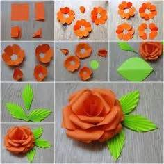 How To Make A Flower Out Of Construction Paper - 25 best ideas about construction paper flowers on
