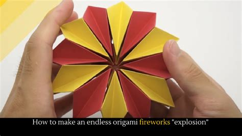 How To Make Origami Fireworks - origami firework images craft decoration ideas