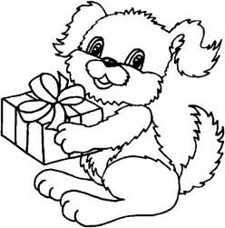 puppy coloring pages cute cooloring com