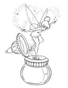 tinkerbell coloring page free coloring pages tinkerbell coloring pages printable