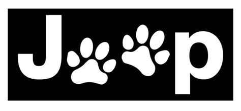 jeep country logo all things jeep jeep paw logo decal small