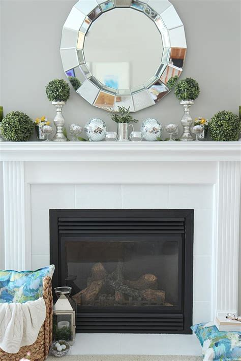 How To Decorate A Mantel by How To Decorate A Fireplace Without Mantle Fireplace Designs