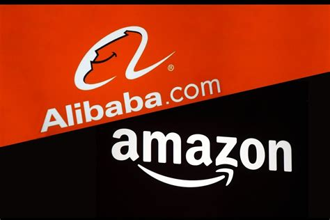 amazon vs alibaba by the numbers amazon vs alibaba infographic