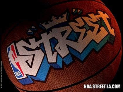 street graffiti nba basket ball  graffiti art design