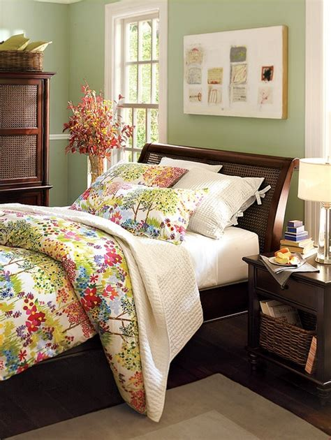 pottery barn bedroom colors benjamin moore misted fern color pinterest guest