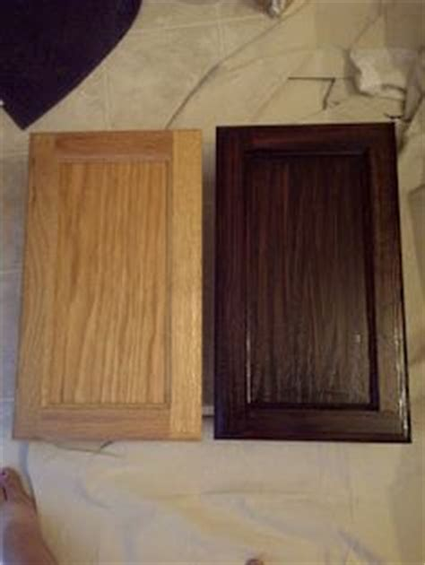 Already stained wood can be further stained a darker shade