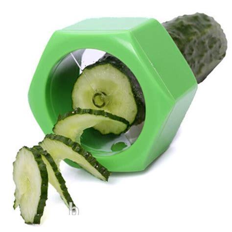 Murah Ori Alat Potong Spiral Slicer Untuk Ketimun Wortel kitchen cucumber slicer pemotong mentimun