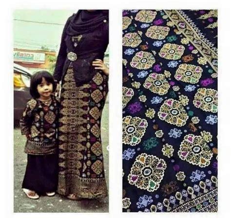 Baju Songket Borneo ini surya sabandan batik bali prada ke batik sarawak
