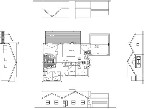 sketch plan for 3 bedroom house precision modelling for architecture with blender