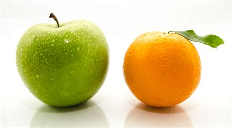 Comparing Apples To Oranges by The Danger Of Comparison