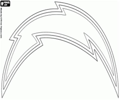 nfl chargers coloring pages nfl logos coloring pages printable games 2