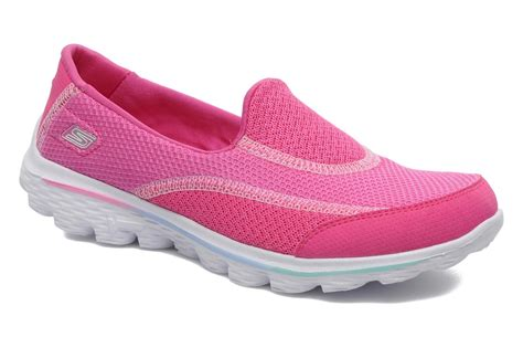 Skechers Walk 4 by Skechers Go Walk 4 Trainers In Pink At Sarenza Co Uk 184132