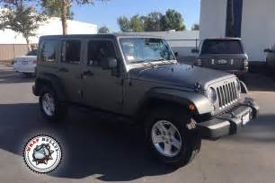 Wrapped Jeep Jeep Wrangler Rubicon Wrapped In Matte Gray Wrap Wrap Bullys