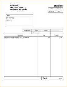 template of invoice 3 free invoice template pdf printable receipt