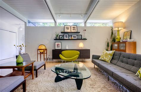 midcentury living room mid century modern style design guide ideas photos