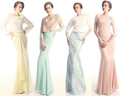 Baju Muslim Alia Set pastel baju kreasi kebaya pastel