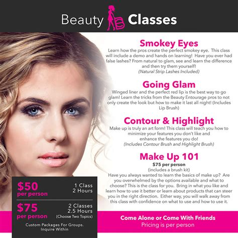 hair and makeup courses online hair and makeup classes beauty entourage