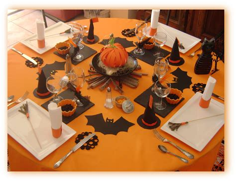 idees themes halloween id 233 e d 233 coration de table halloween