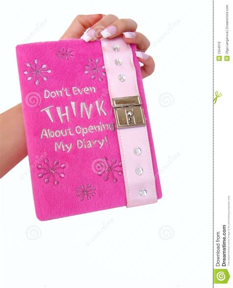 Dairy Pink pink diary royalty free stock images image 1554019
