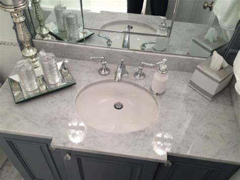 silver bathroom white silver marble bathroom