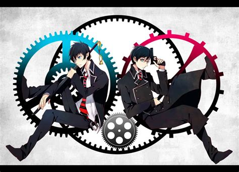 imagenes anime en hd blue exorcist wallpaper hd wallpapersafari