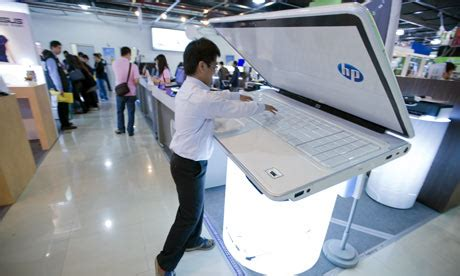 hp boosts computer industry with rising profit