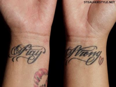 demi lovato stay strong tattoos i love pinterest demi lovato s stay strong tattoos musician tattoos