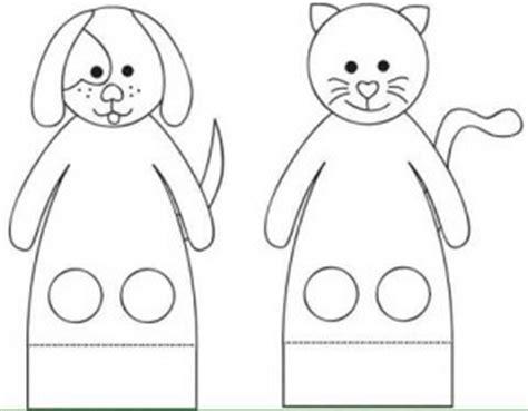 finger puppets printables funnycrafts