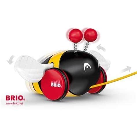 brio pull along brio pull along bumblebee 30165 table mountain toys
