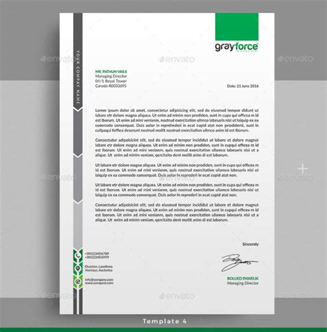 business letterhead design templates 15 creative professional letterhead template word
