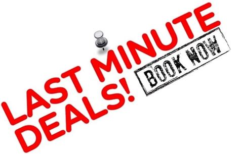 7 Last Minute Substitutions by Last Minute Deals