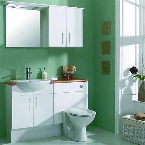 wickes bathroom furniture wickes seville basin unit semi recessed basin white