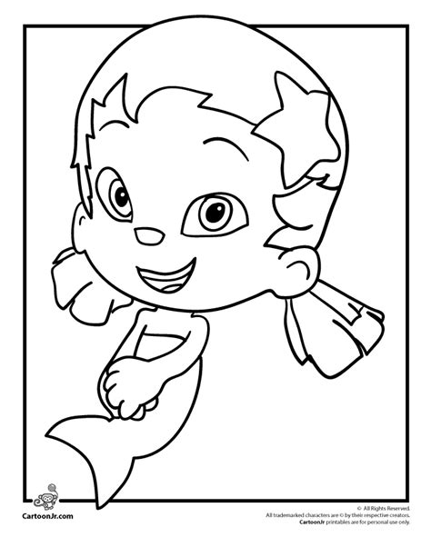 Free Bubble Guppies Coloring Pages Az Coloring Pages Free Guppies Coloring Pages