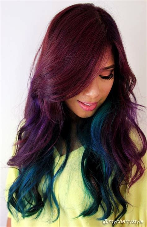 hairstyles crazy color 121 best images about hair styles care on pinterest