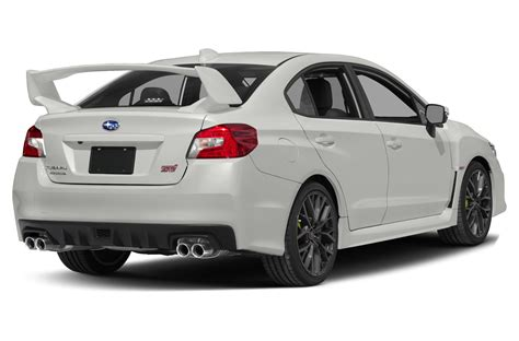 subaru sedan 2018 new 2018 subaru wrx sti price photos reviews safety