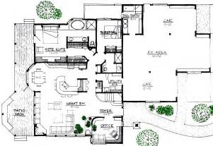 rustic lodge space efficient solar and energy house plan floor plans houses inside home