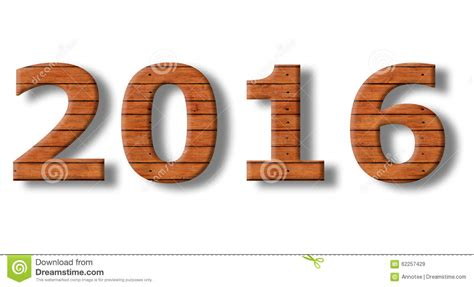 new year 2016 wood rabbit new year 2016 stock photo image 62257429