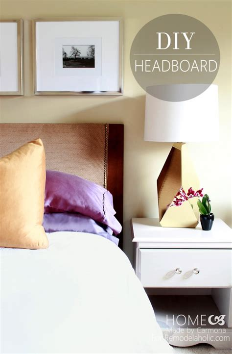 remodelaholic how to turn a door into a stylish headboard