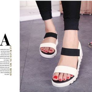 Sepatu Wanita Cantik Terbaru Dan Termurah Ul 48 Bahan 9cm sandal teplek wanita model terbaru murah flat poppy