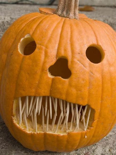 70 cool easy pumpkin carving ideas for wonderful - Simple Pumpkin Ideas