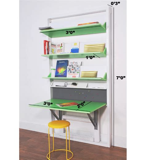 buy spaceone book shelf study table modern