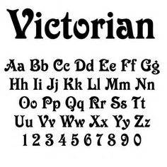 Decorated Wooden Letters 1000 Images About Victorian Fonts On Pinterest