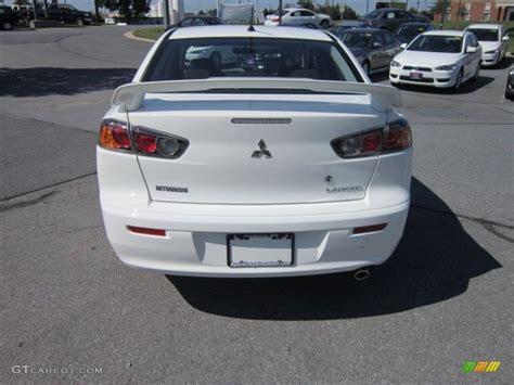 white mitsubishi lancer with black 2012 wicked white mitsubishi lancer gt 66337957 photo 4