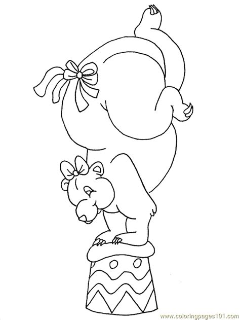 coloring pages of circus animals circus animals coloring page free circus animals
