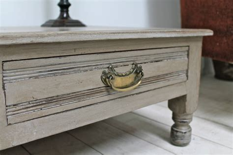 coffee table painted distressed painted coffee table by distressed but not